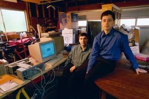 Larry Page et Sergueï Brin