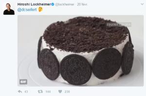 Android 8.0 : Tweet d'Hiroshi Lockheimer