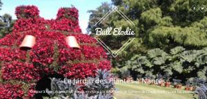 blog Bull'Elodie Voyage : Le jardin des plantes à Nantes