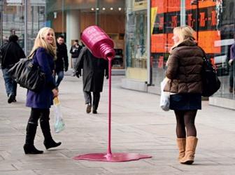 Luxe et street marketing : bon ménage et pas qu'un peu…