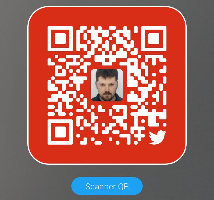 Le QR Code sur Twitter!