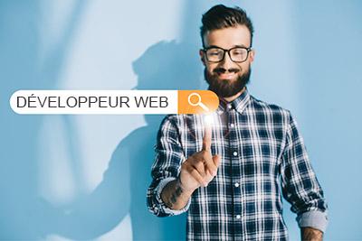 informations sur le metier de developpeur web