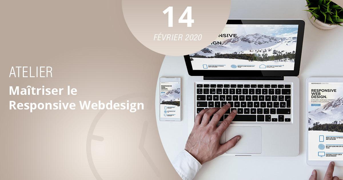 maîtrisez le responsive design en vous inscrivant à l'atelier de l'esecad
