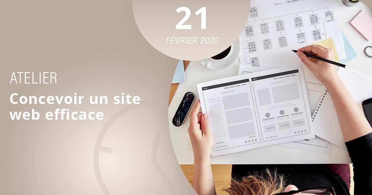 apprenez comment concevoir efficacement un site web grâce à l'esecad et son atelier thématique
