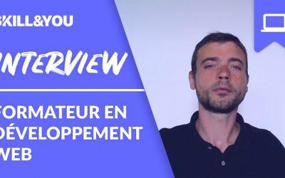 Interview Fabrice Duchénois formateur en développement web à l'ESECAD